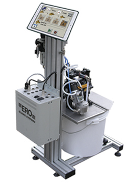 ERO-TEBS low-pressure gluing system